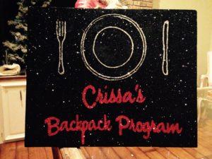 Carissa's Backpack Program